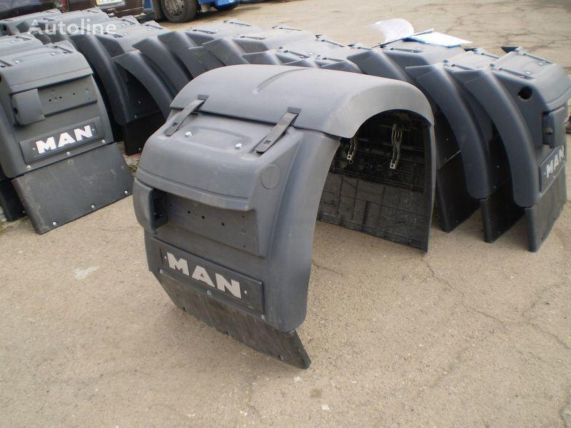 new mosta mudguard for MAN TGA tractor unit