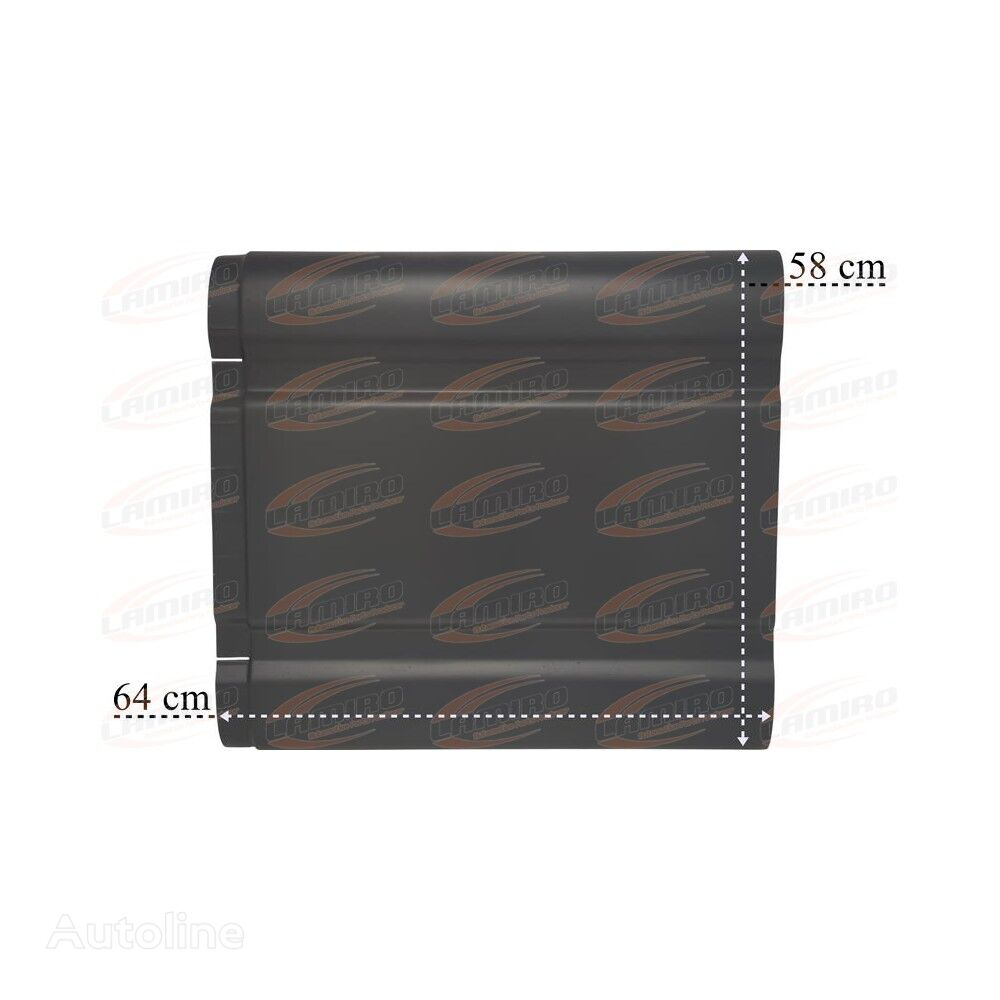 new SCANIA 4 SIDE COVER CENTER PART R/L mudguard for SCANIA SERIES 5 (2003-2009) truck