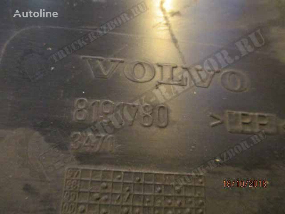 perednee (bryzgovik), L mudguard for VOLVO tractor unit