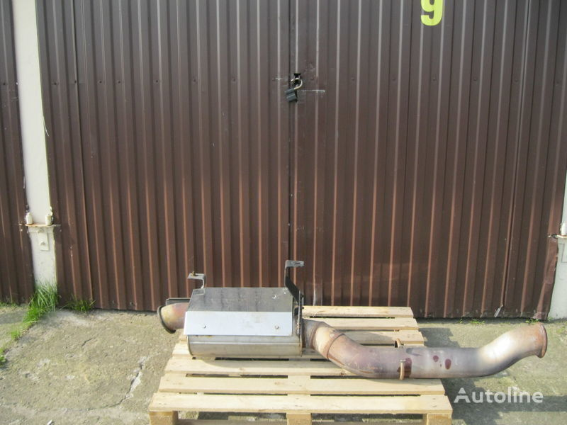 muffler for DAF XF 105 tractor unit
