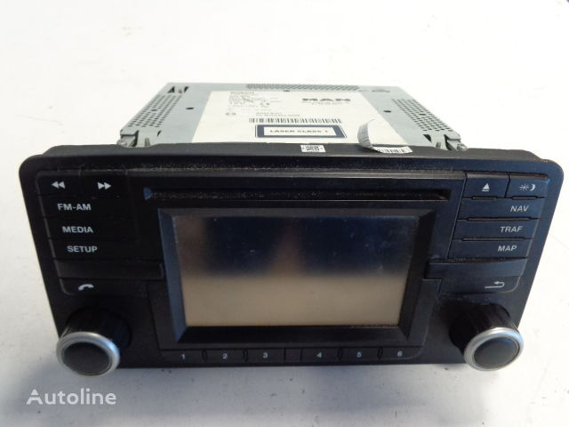 BOSCH navigation system for MAN TGX tractor unit