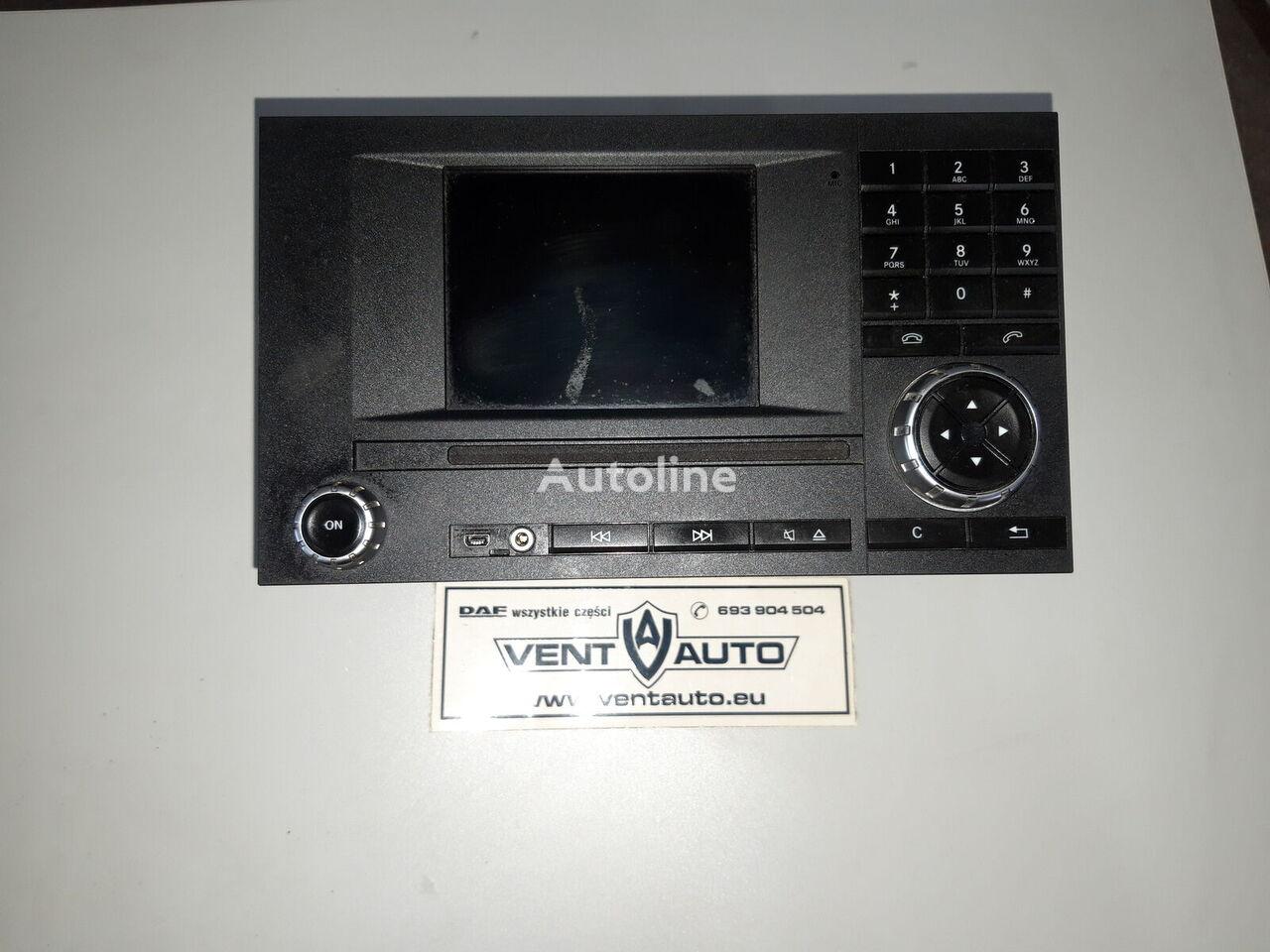 MERCEDES-BENZ ACTROS MP4 NAVIGATION RADIO navigation system for MERCEDES-BENZ ACTROS MP4 tractor unit