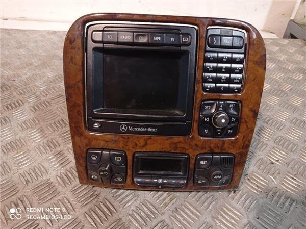 Navegador Mercedes-Benz Clase S Berlina (BM 220)(1998->) 3.2 320 (A 220 827 04 42) navigation system for MERCEDES-BENZ Clase S Berlina (BM 220)(1998->) 3.2 320 CDI (220.026) [3,2 Ltr. - 145 kW CDI CAT] automobile