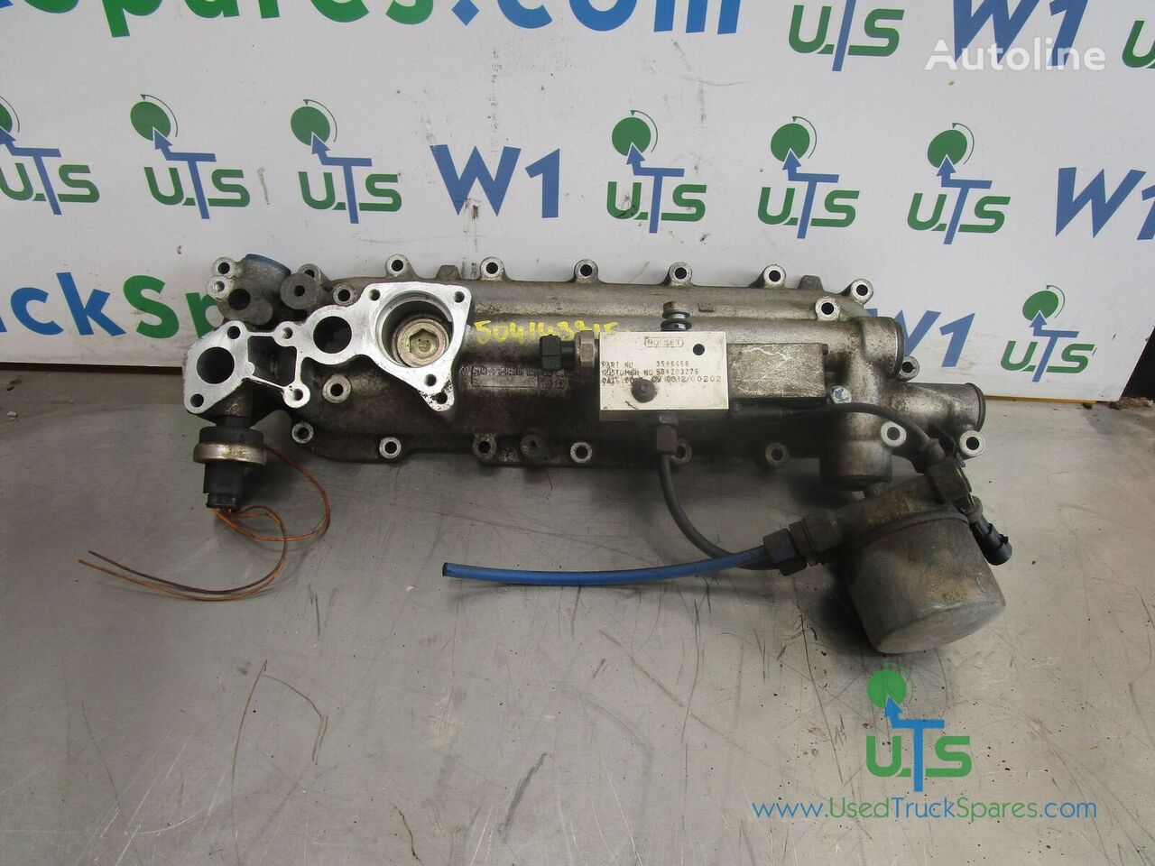 IVECO HOUSING oil cooler for truck