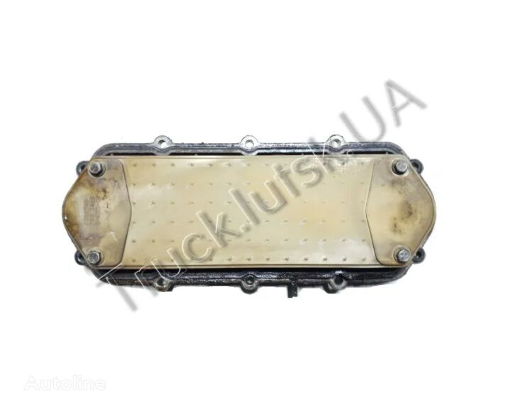 SCANIA (1351348) oil cooler for SCANIA R tractor unit