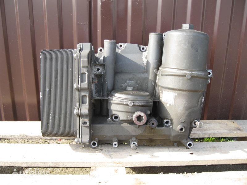DAF CHŁODNICZKA OLEJU Z PODSTAWĄ oil filter for DAF XF 105 tractor unit