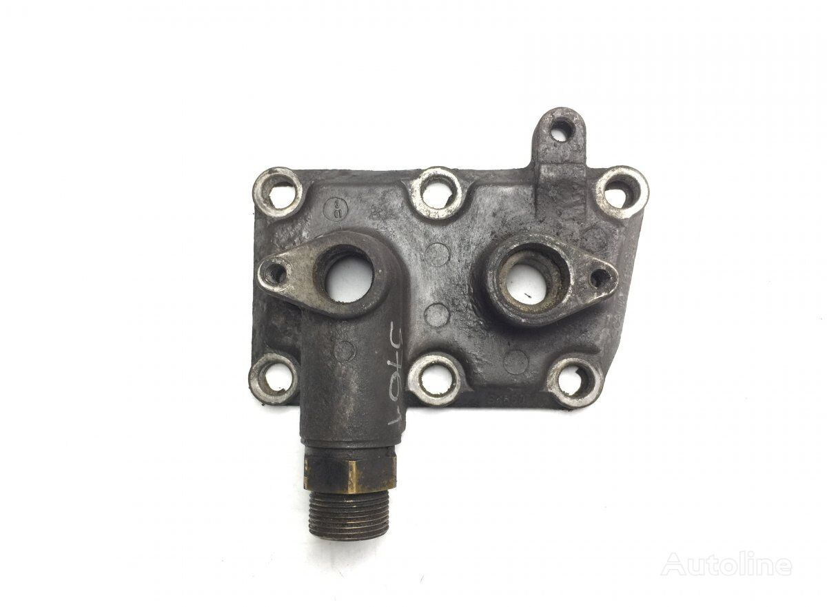 Coolant Flange SCANIA (1413932 1364372) other cooling system spare part for SCANIA 4-series 94/114/124/144/164 (1995-2004) tractor unit