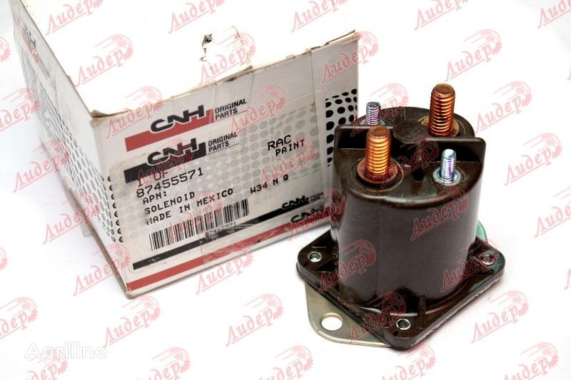 Solenoid 200A svechey nakala / Solenoid 200A of glow plugs Solenoid 200A svechey nakala / Solenoid 200A of glow plugs (87455571) other electrics spare part for CASE IH (T80..,T90..,Mag,STX) tractor