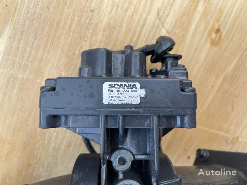 ELEKTRONISK TROTTEL  SCANIA DC07 ELEKTRONISK TROTTEL (P/N: 2231544) ((P/N: 2231544)) other electrics spare part for tractor unit