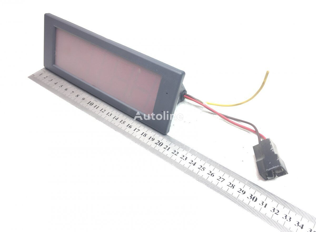 Digital watch SCANIA K-series (01.06-) (1805612) other electrics spare part for SCANIA P G R T-series (2004-) tractor unit