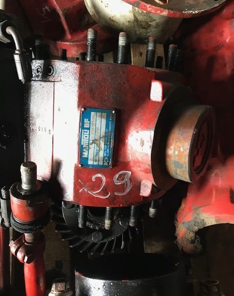 Talerz other engine spare part for MANITOU 626 telehandler