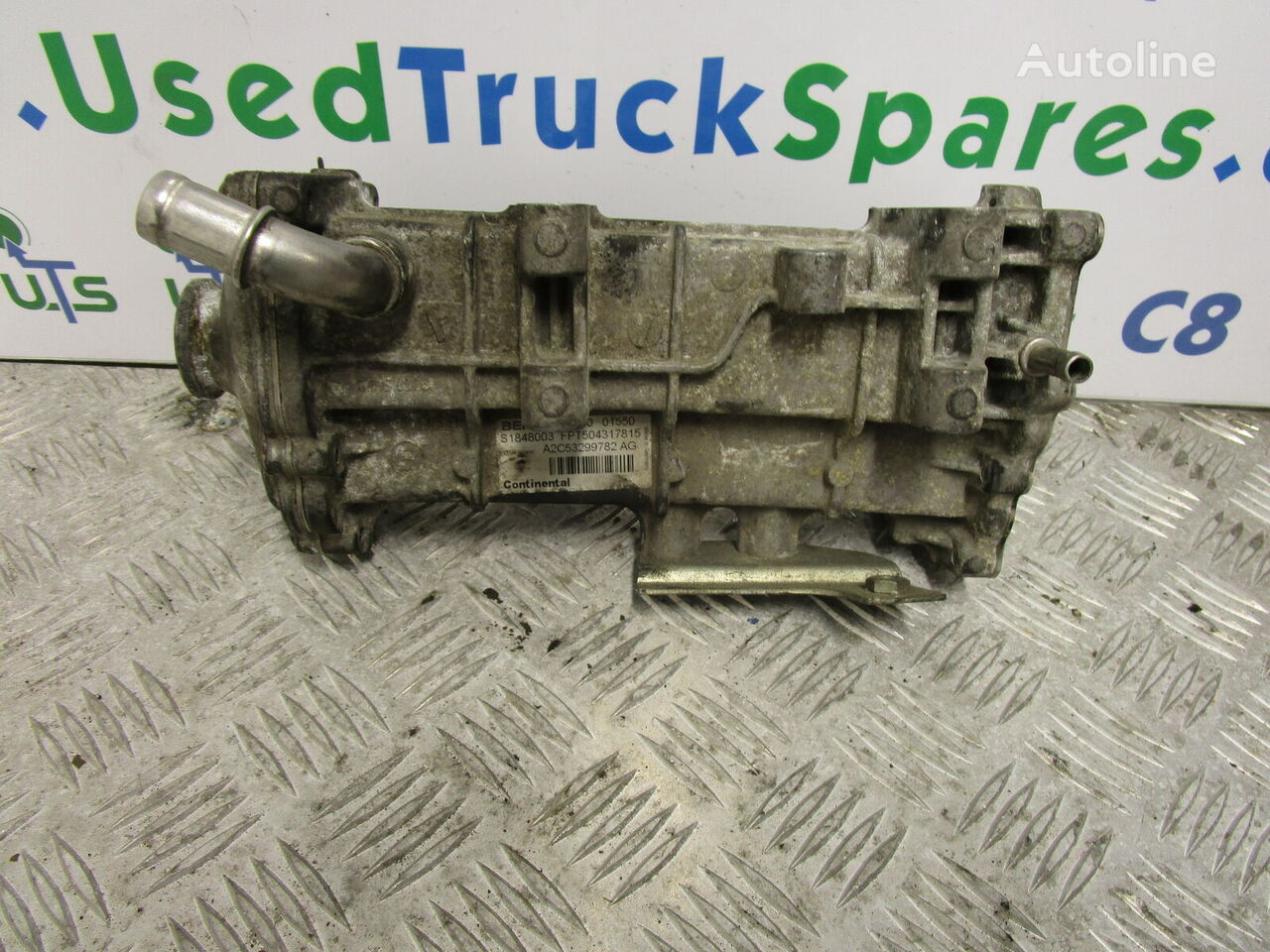 EGR COOLER other exhaust system spare part for IVECO DAILY 3.0   truck