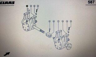 przekładnia rotora CLAAS 00 0669 614 3 other operating parts for CLAAS Lexion 580 480 grain harvester