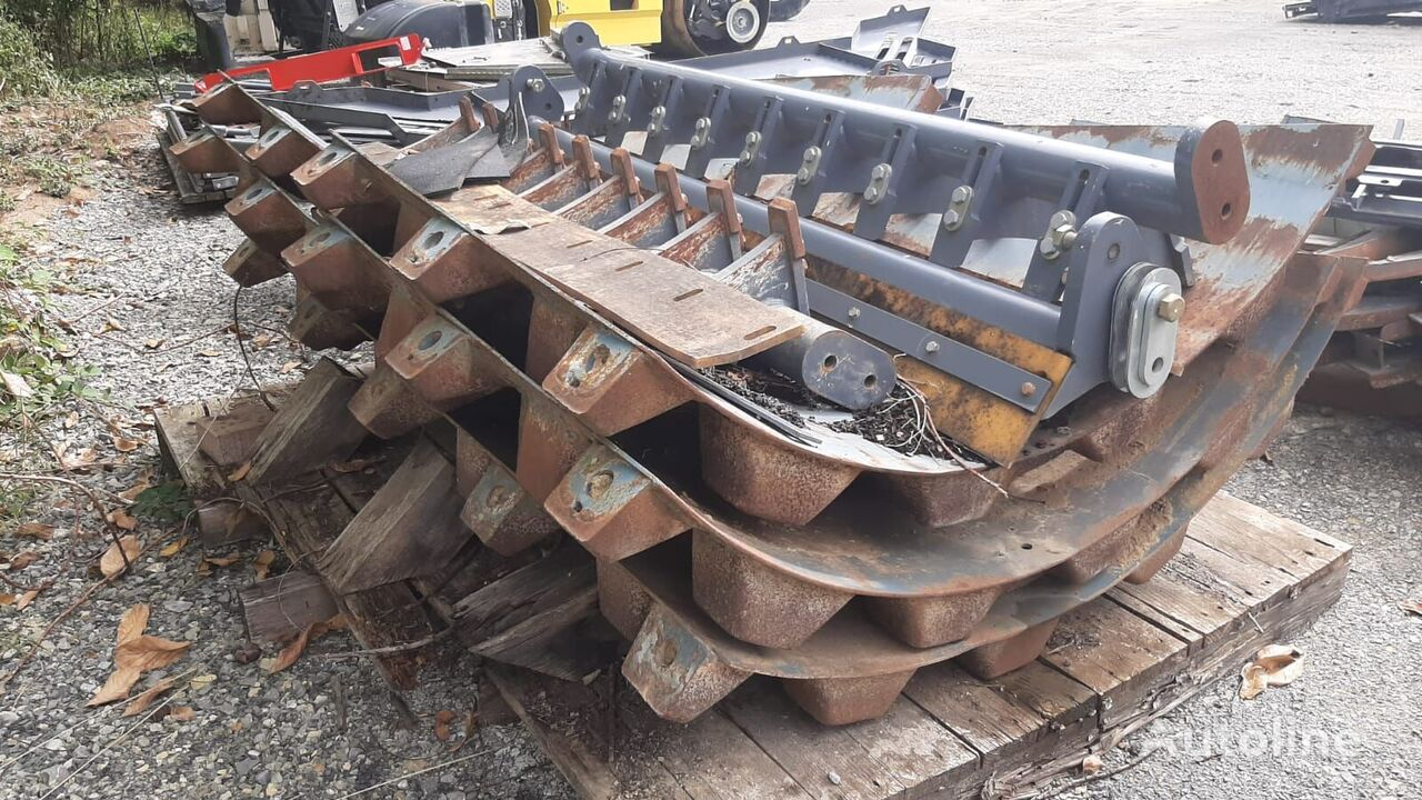 Stampffußsegmente other operating parts for HAMM H11-H13 construction roller