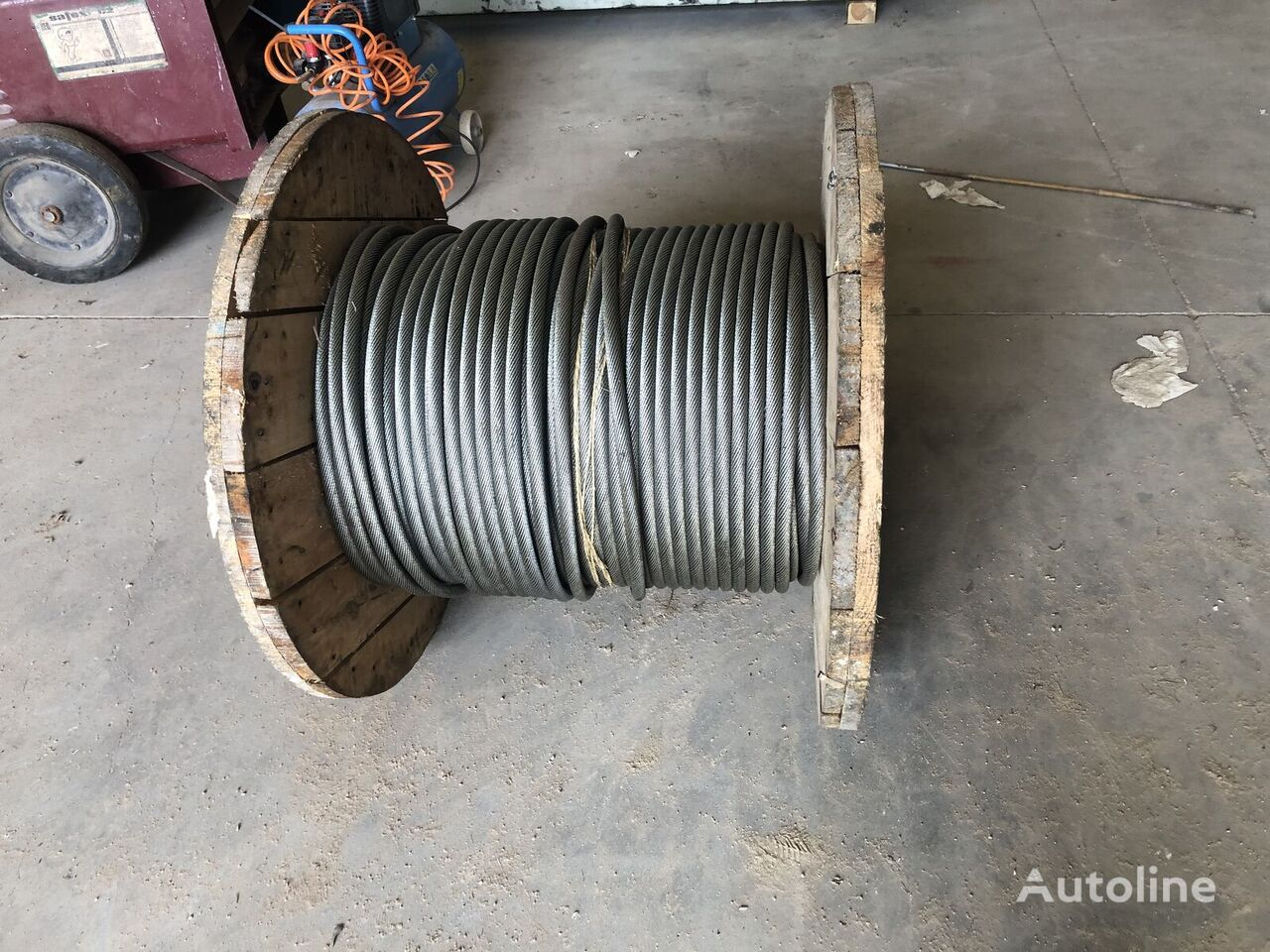 CABLE DE ELEVACION 150 metros X 17 mm, antigiratorio/inoxidable LIEBHERR 150x17 other operating parts for LIEBHERR GROVE, LIEBHERR, DEMAG, FAUN mobile crane