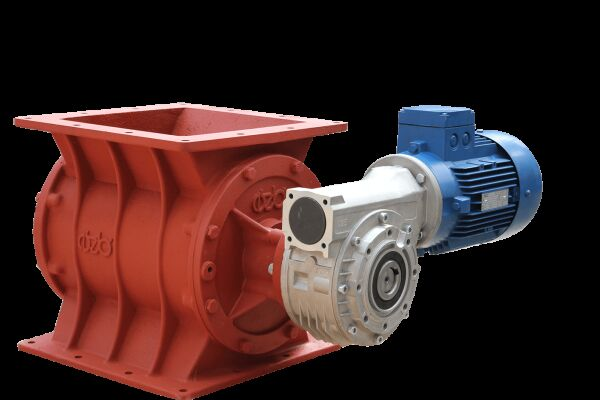 Rotary Valves OZB Yıldız Besleyiciler other operating parts for concrete plant