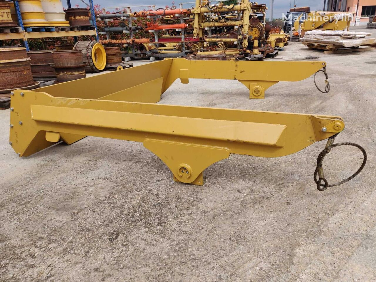 TAILGATE other spare body part for VOLVO varie A40D articulated dump truck