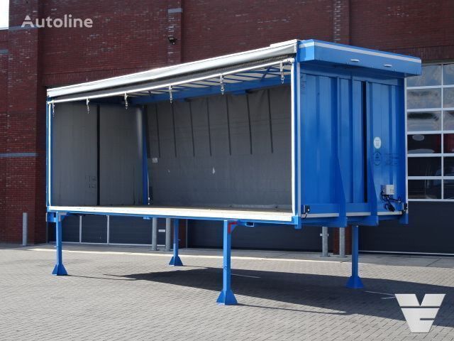 ** BDF Box Beverage transport - Electric curtains - Like new! other spare body part for truck