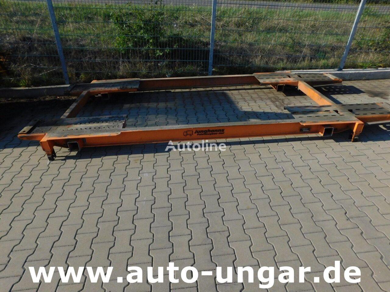 Junghans Hilfsrahmen  IVECO für LKW 3-Achser Kipper-Aufnahme other spare body part for IVECO TRAKKER truck