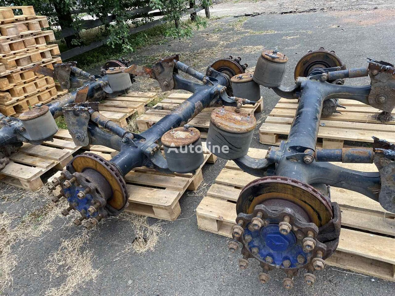 most dlya polupricepa MERCEDES-BENZ other suspension spare part for MERCEDES-BENZ semi-trailer