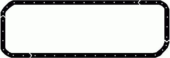 new (424603) pan gasket for VOLVO ELRING truck