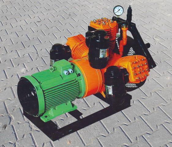 pneumatic compressor for V3.16 tłokowy z silnikiem elektrycznym tank semi-trailer