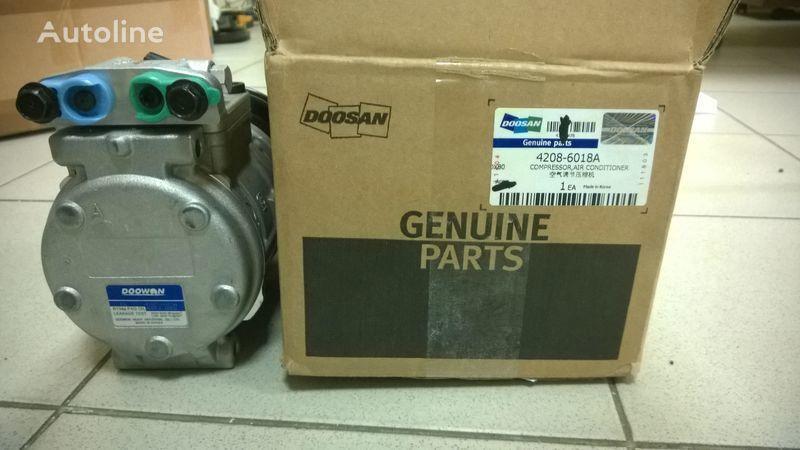 new Doosan compressor air conditioner (kompressor) pneumatic compressor for DOOSAN DL400 wheel loader