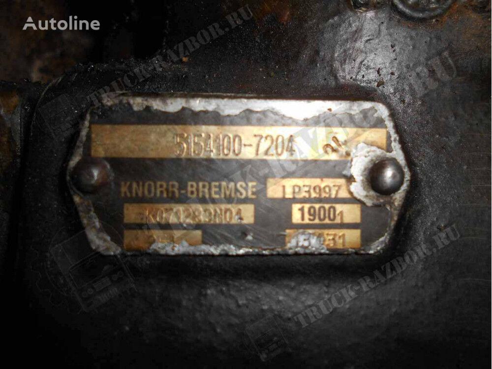 KNORR-BREMSE pneumatic compressor for MAN tractor unit