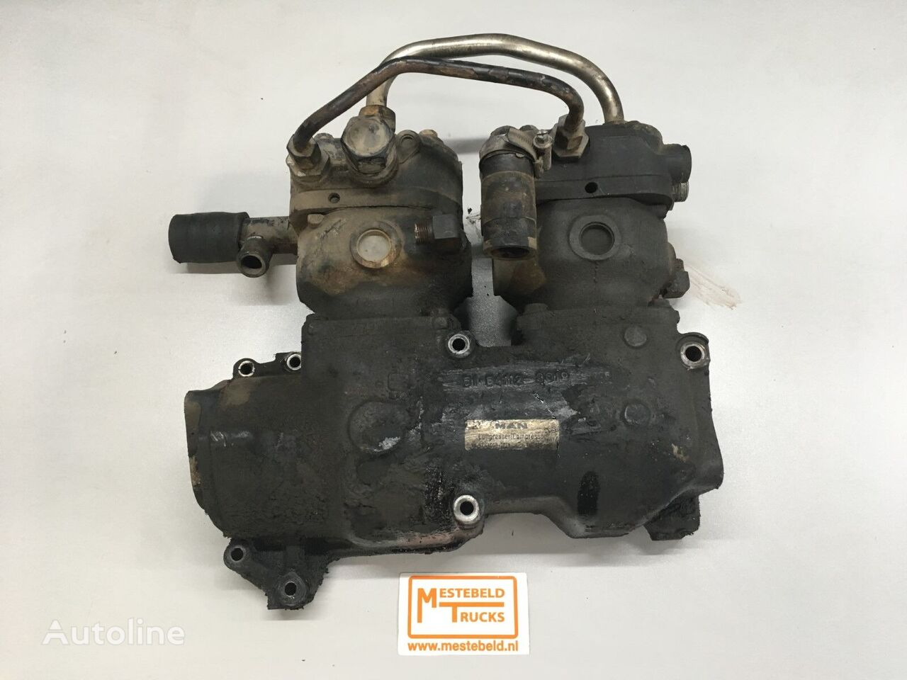 MAN pneumatic compressor for truck