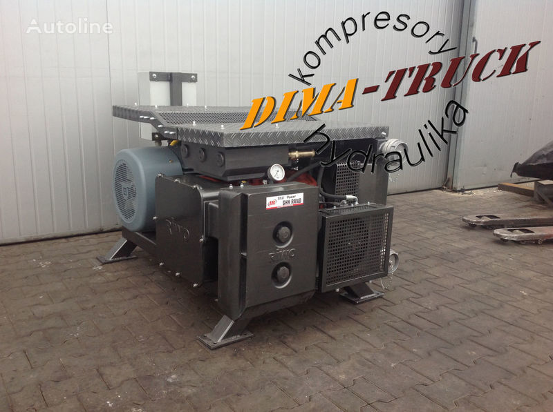 agregat ghh, drum silokompresor pneumatic compressor for electric agregat truck