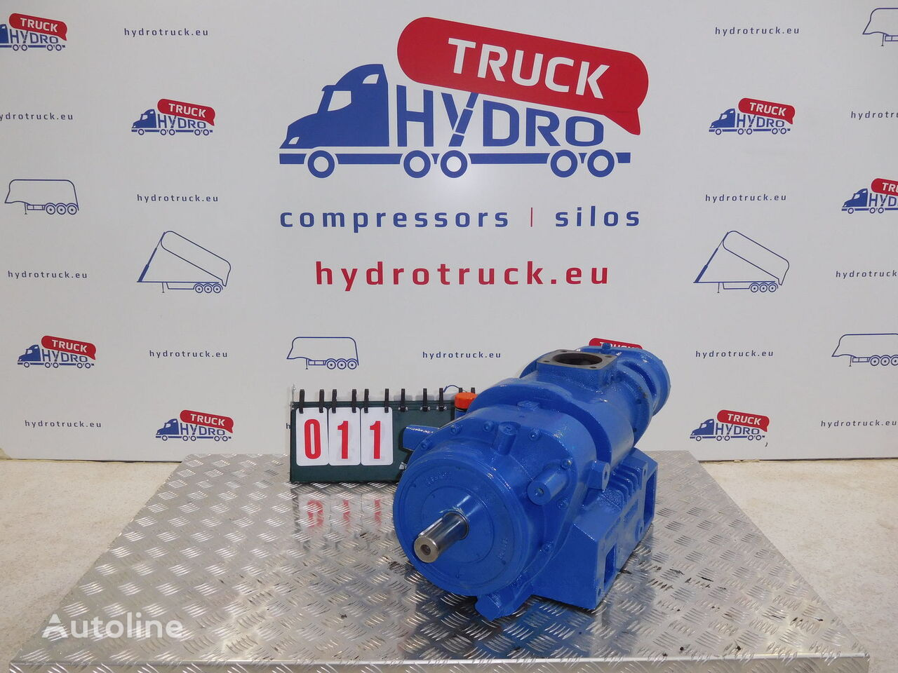 used BLACKMER TYPHON-2C pneumatic compressor for tractor unit