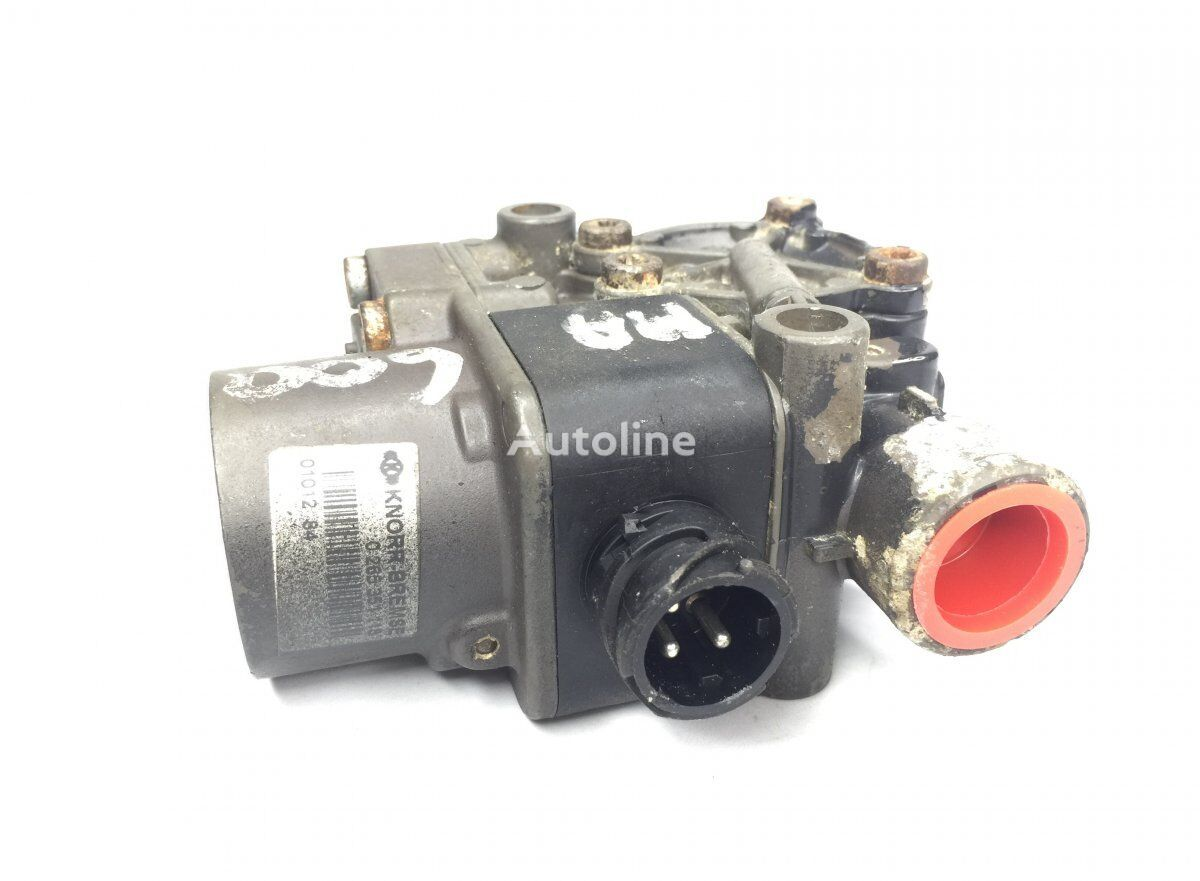 KNORR-BREMSE ABS Valve, Front Axle Left pneumatic valve for MAN 4-series L/M/F (1993-2005) truck