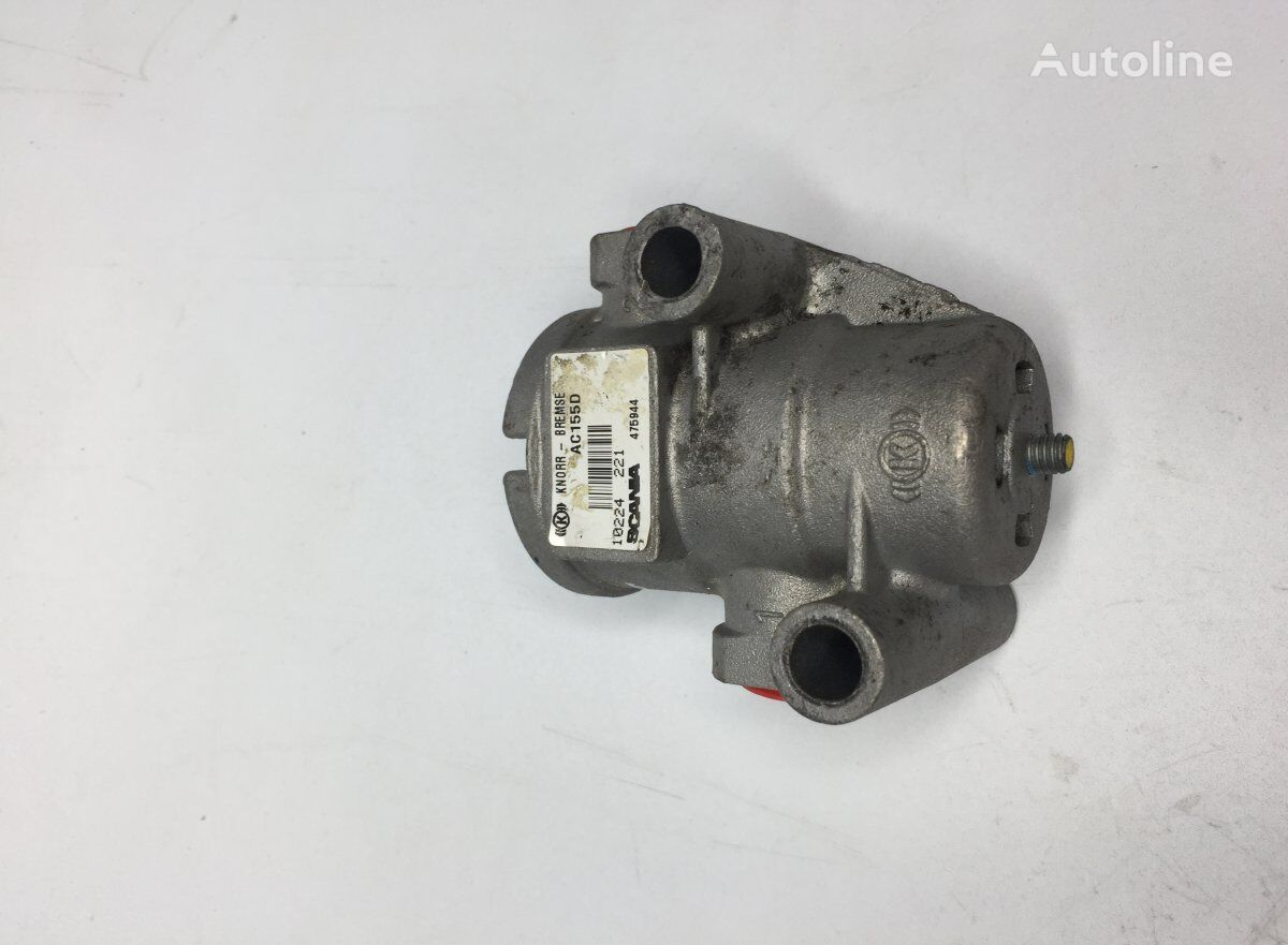 KNORR-BREMSE Air Pressure Regulator (2250738 475944) pneumatic valve for SCANIA 4-series 94/114/124 bus (1995-2005) bus