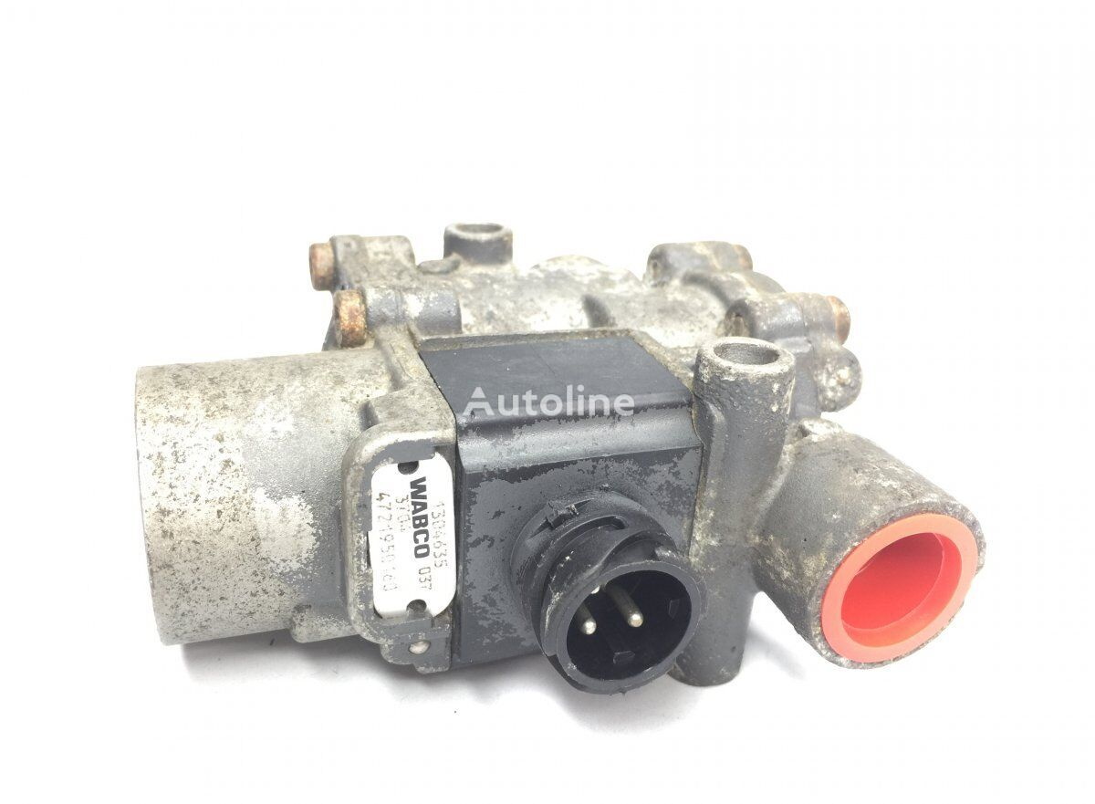 WABCO ABS Valve, Front Axle Right (4721950160) pneumatic valve for DAF XF95/XF105 (2001-) tractor unit
