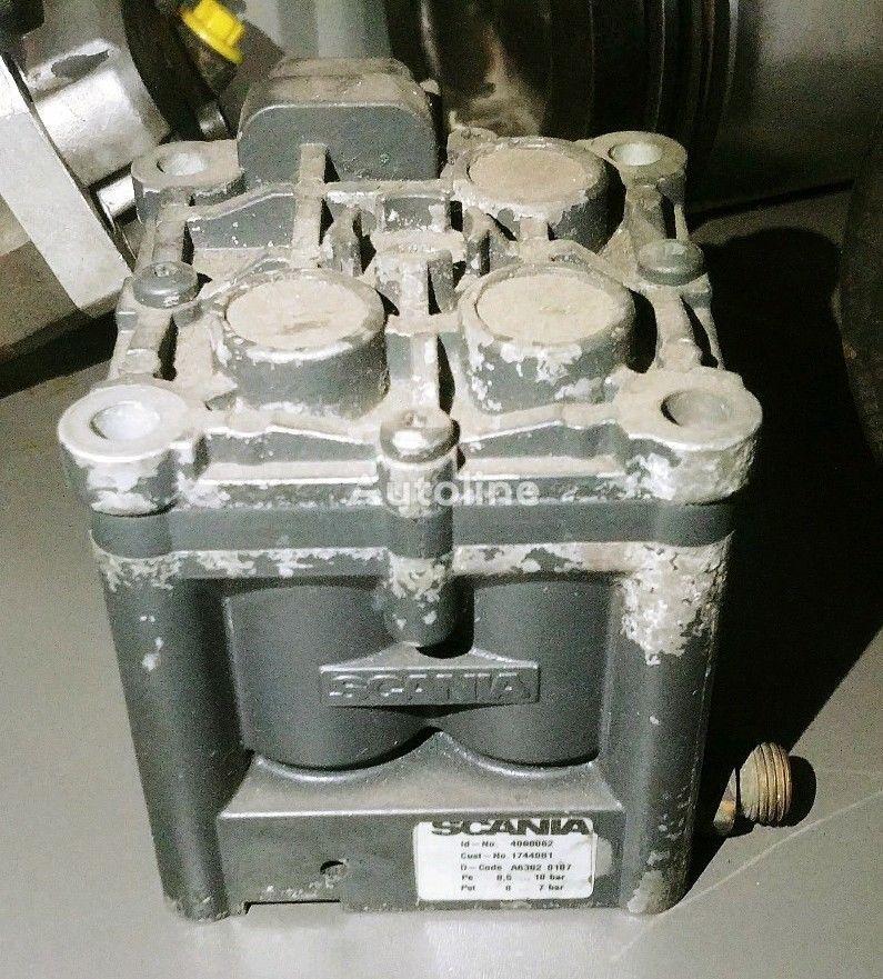 SCANIA BLOCK EGR XPI ENGINE pneumatic valve for truck