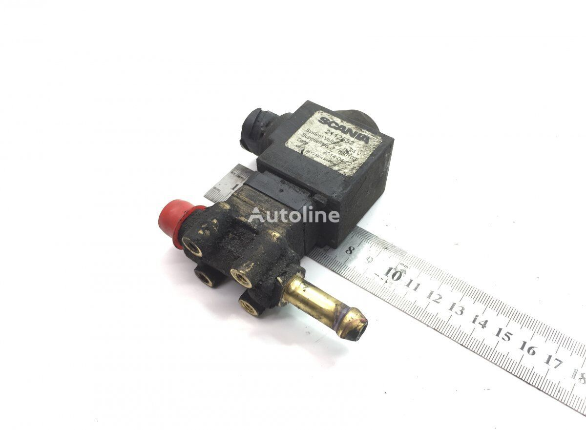SCANIA R-Series (01.13-) (2112552) pneumatic valve for SCANIA P G R T-series (2004-) tractor unit