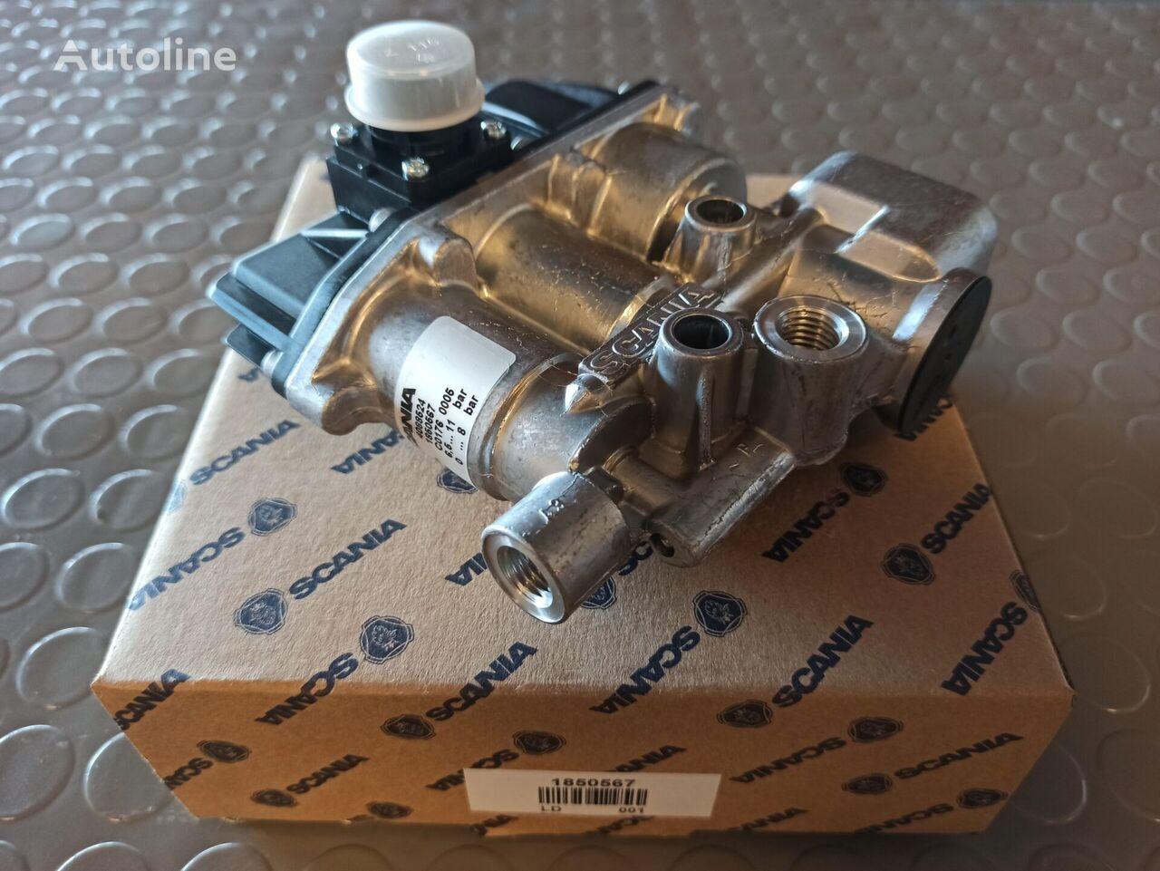 new SOLENOID VALVE BLOCK (1850567) pneumatic valve for tractor unit