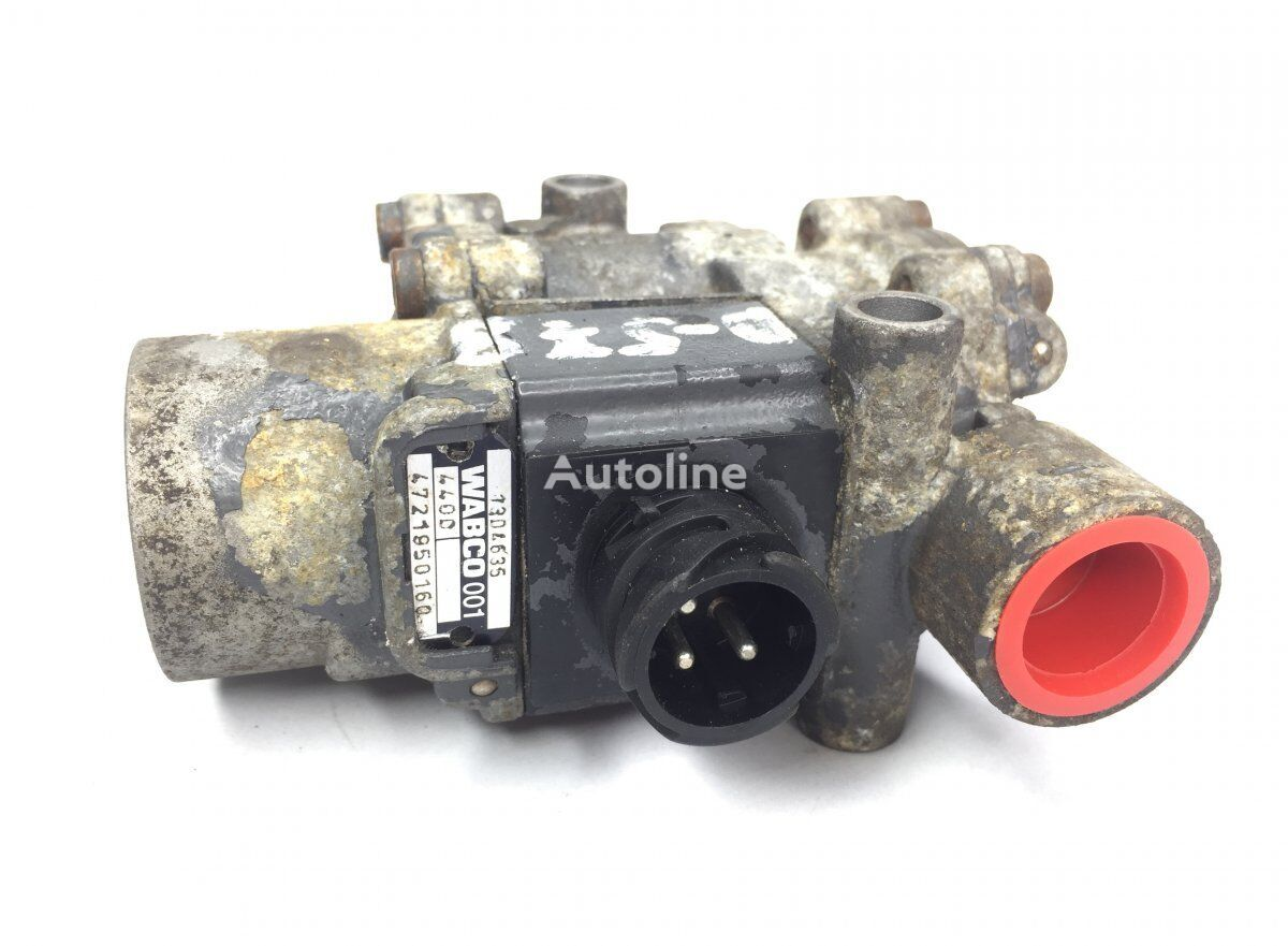 WABCO ABS Valve, Front Axle Left (4721950160) pneumatic valve for DAF 65CF/75CF/85CF/95XF (1997-2002) tractor unit