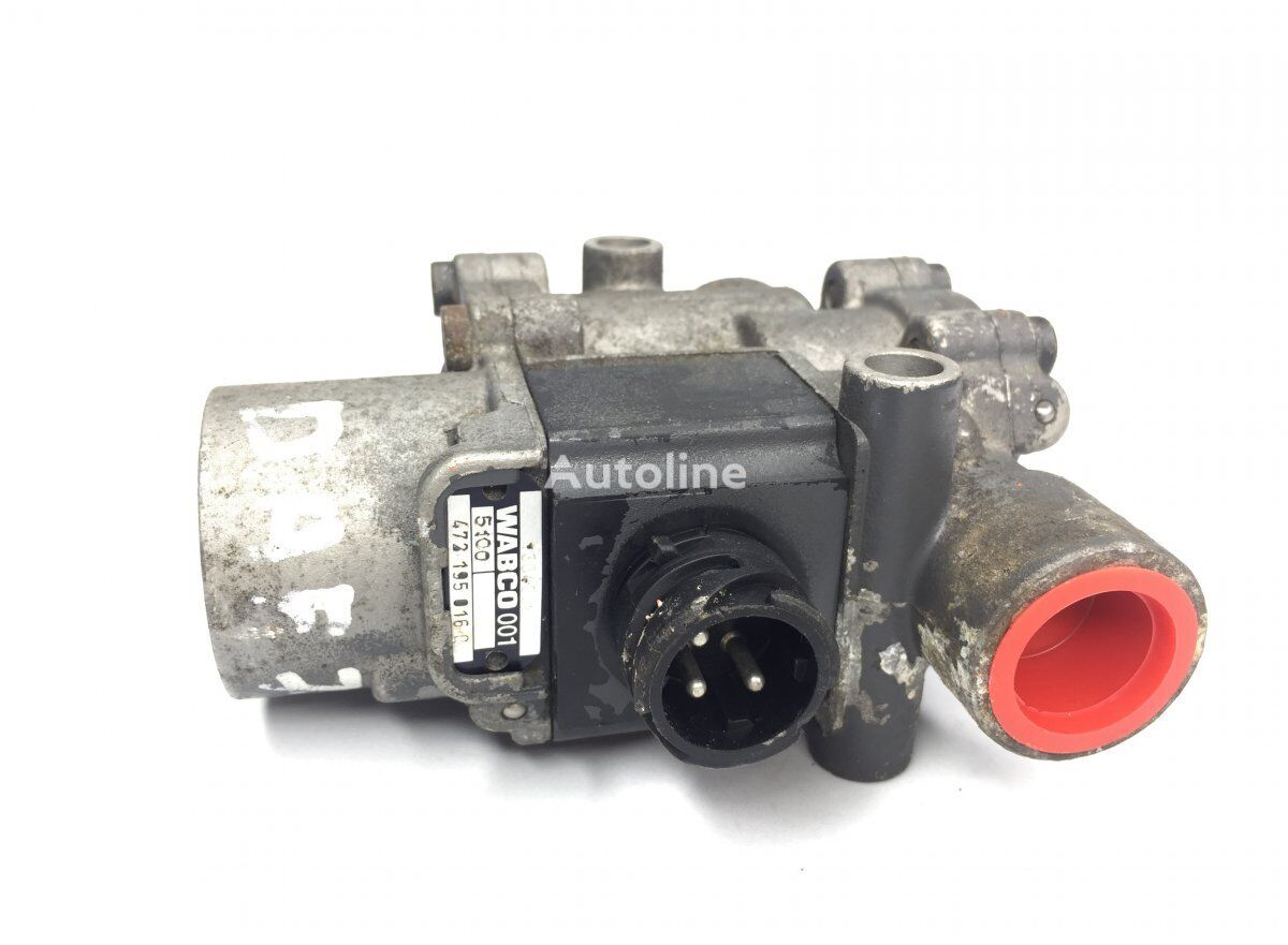 WABCO ABS Valve, Front Axle Left (4721950160) pneumatic valve for DAF 65CF/75CF/85CF/95XF (1997-2002) truck