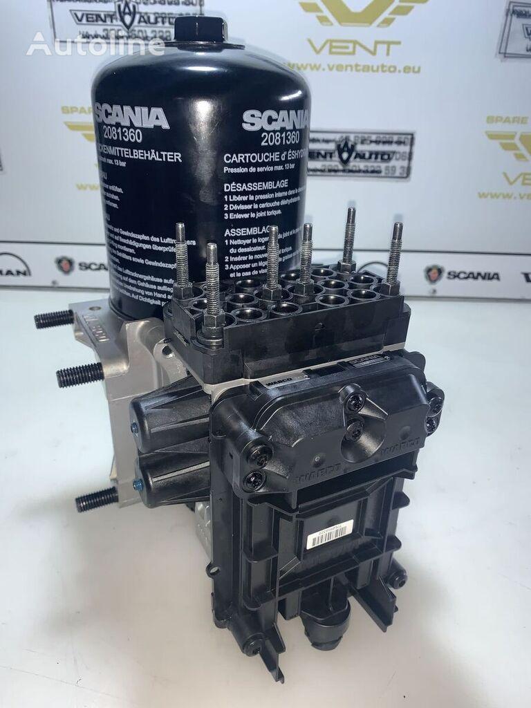 new WABCO MODUŁ APS / APU EURO 5 pneumatic valve for SCANIA tractor unit