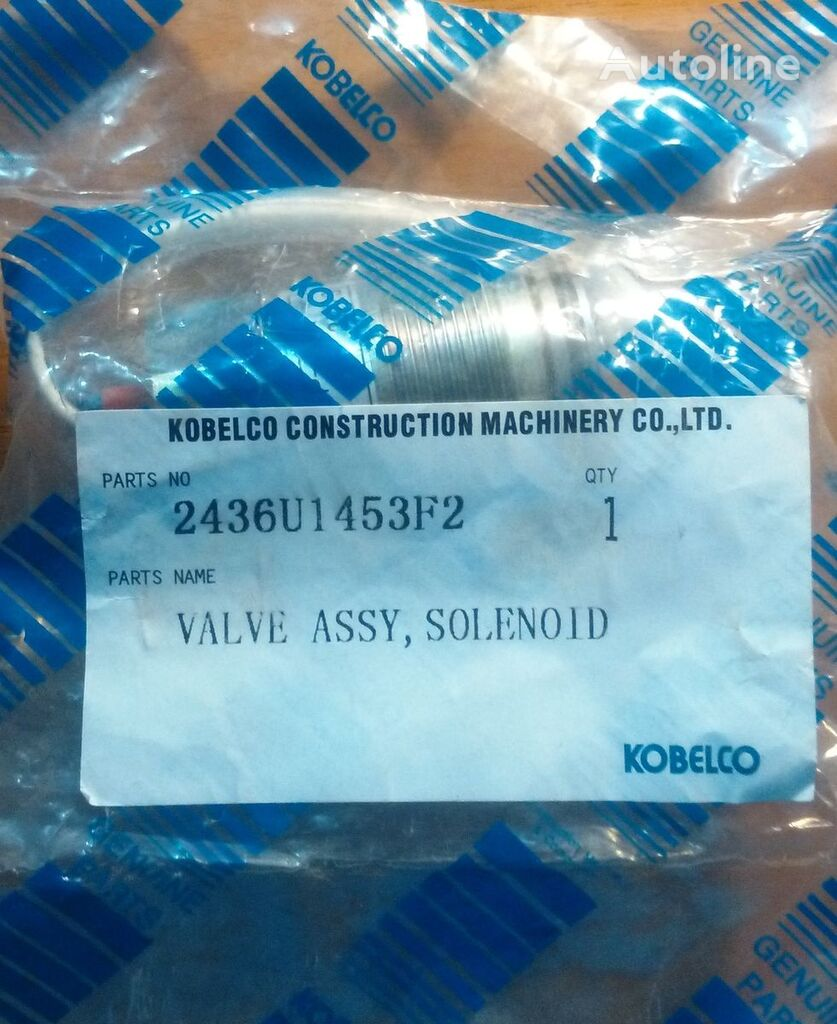 elektromagnitnyy Kobelco pneumatic valve for backhoe loader