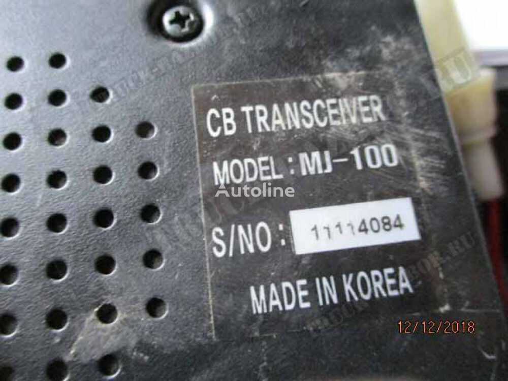 MJ portable radio set for MERCEDES-BENZ tractor unit