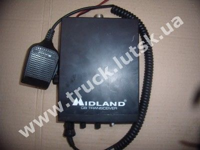 Midland Alan 100 Plus portable radio set for truck