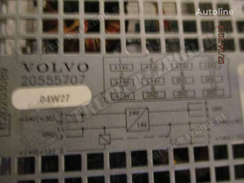 (20555707) power inverter for VOLVO tractor unit