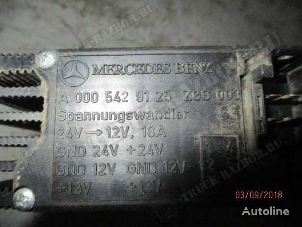 power inverter for MERCEDES-BENZ tractor unit