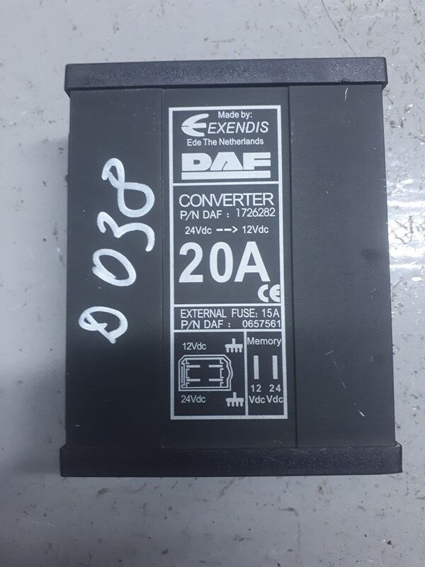 DAF power inverter for DAF XF95/XF105 (2001-) truck