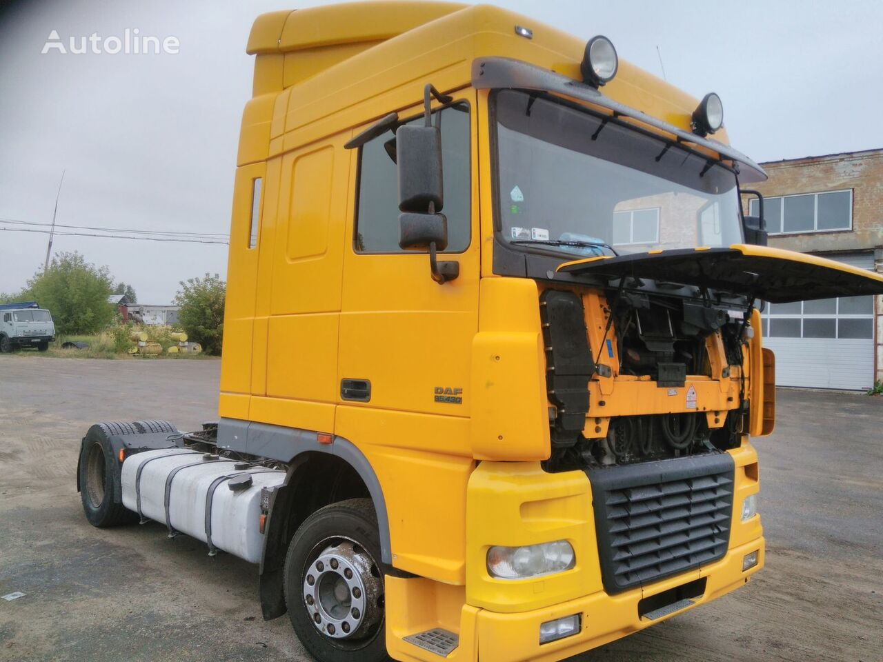 power steering for DAF XF95 tractor unit