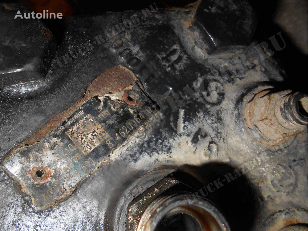 MAN rulevoy power steering for MAN tractor unit