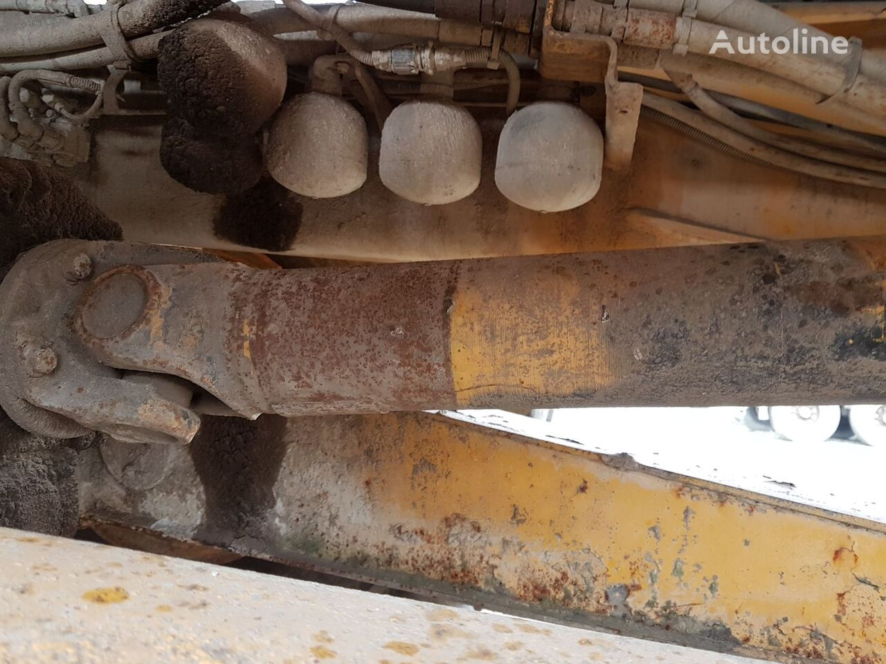 power take off shaft for VOLVO A40 articulated dump truck