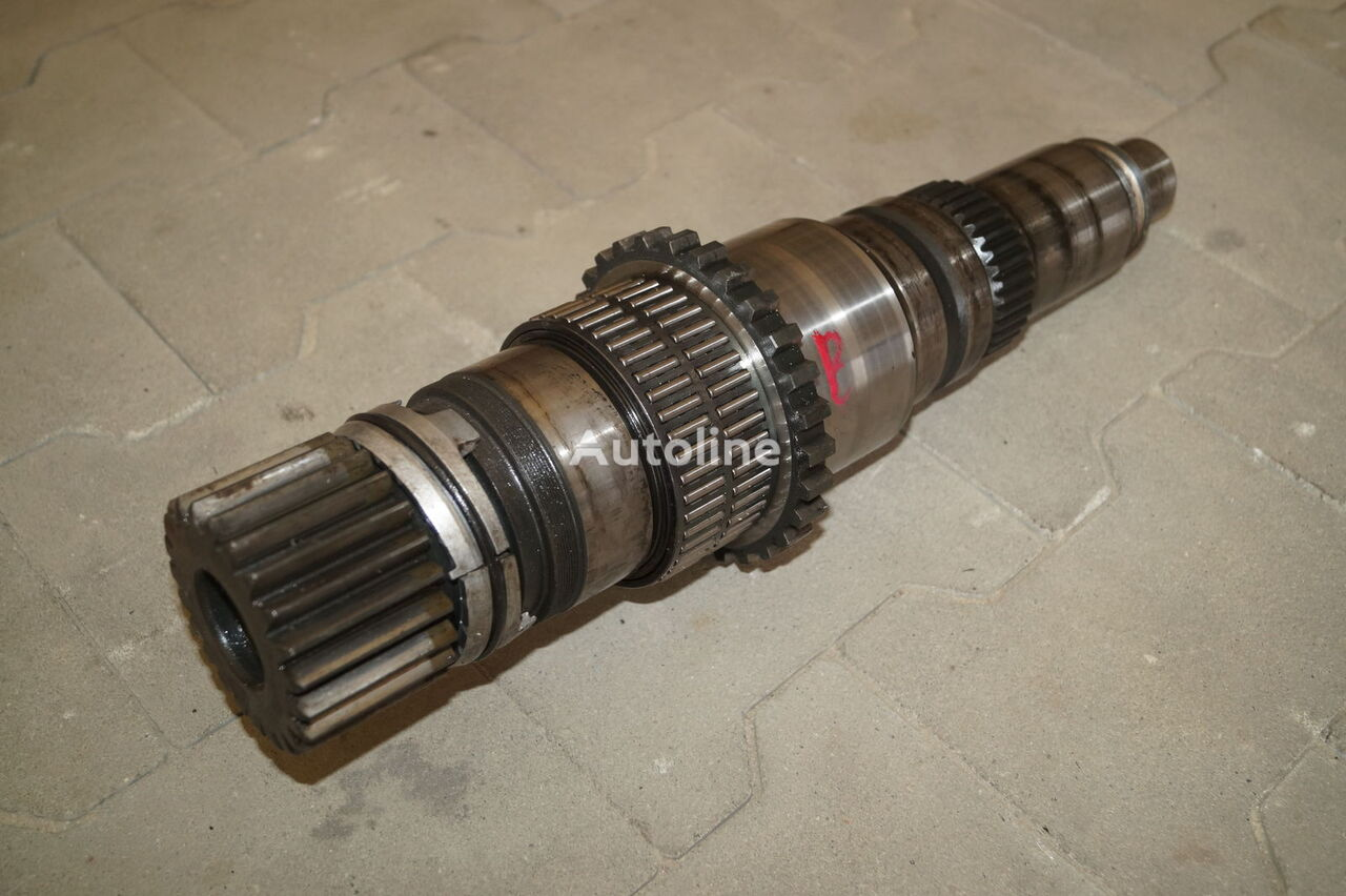 VOLVO GEARBOX MAIN SHAFT / VT2412B ISHIFT / / WORLDWIDE DELIVERY power take off shaft for VOLVO FM FH / PREMIUM MAGNUM DXI tractor unit